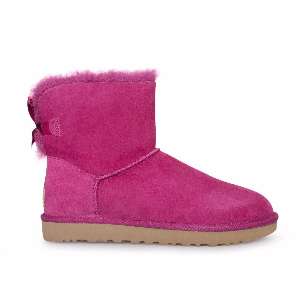 UGG Mini Bailey Bow II Red Violet Boots