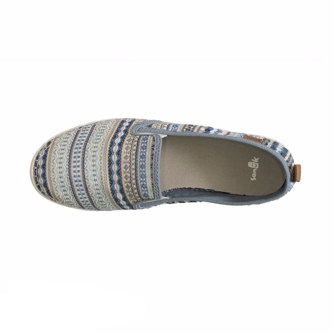 Sanuk Brook TX Grey Lanai Blanket Loafers