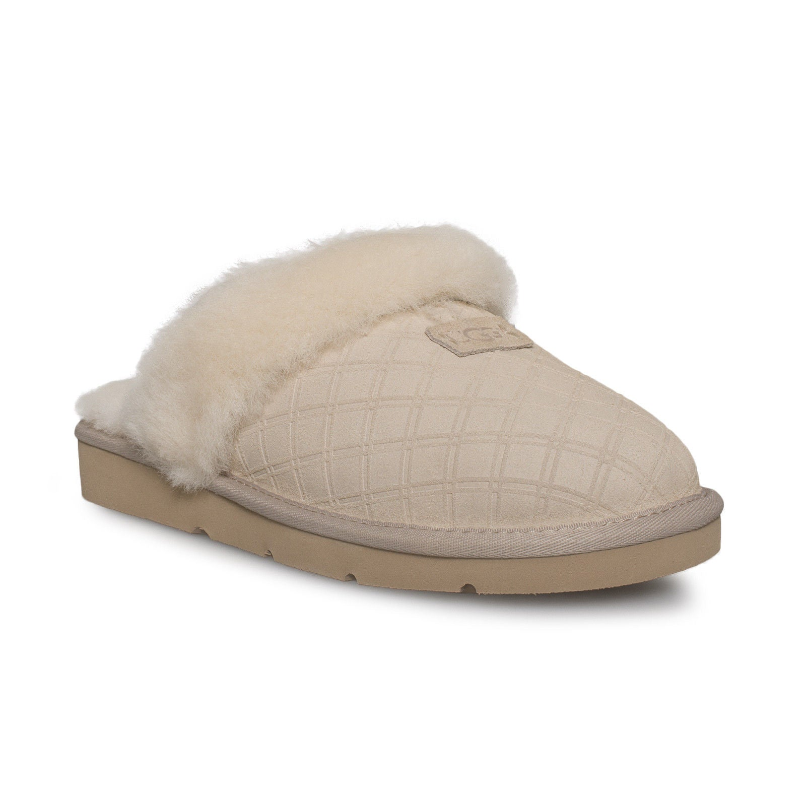 958a3816b4c UGG Cozy Double Diamond Freshwater Pearl Slippers