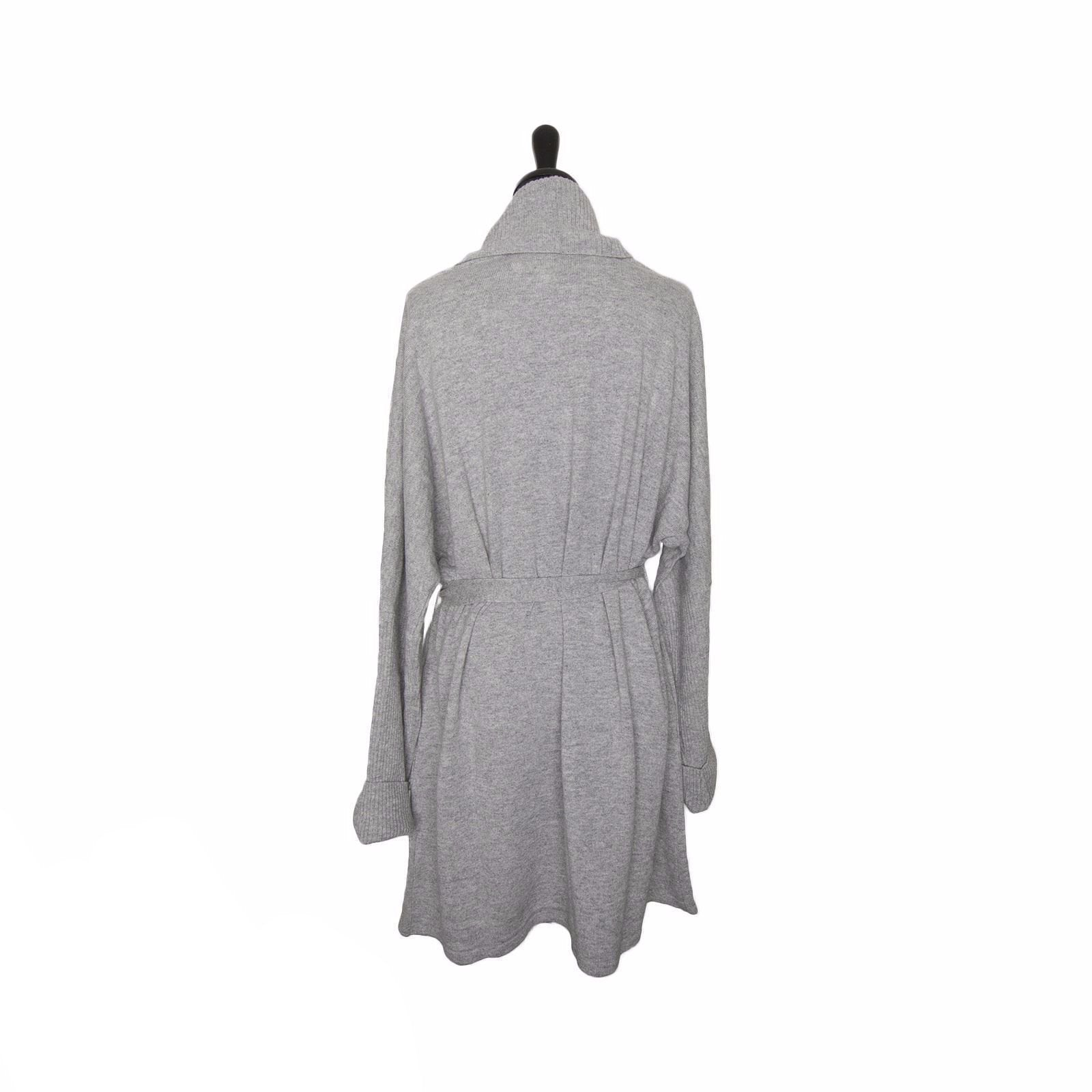 f13256b5f7 UGG Cheyenne Grey Heather Robe - MyCozyBoots