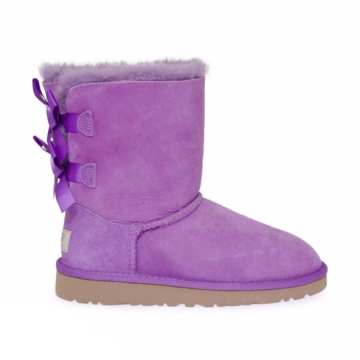 UGG Bailey Bow Electric Violet Boots