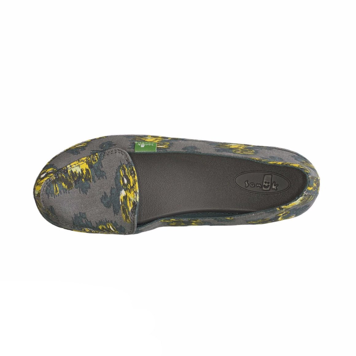 Sanuk Blanche Prints Charcoal / Ikat Floral Shoes