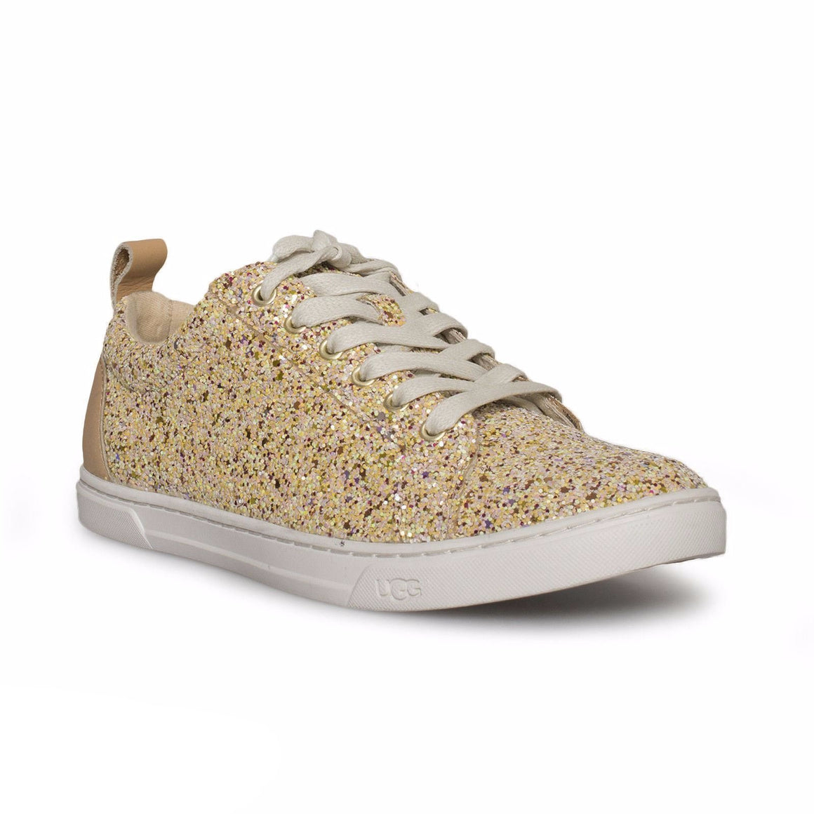 UGG Karine Chunky Glitter Gold Multi Shoes