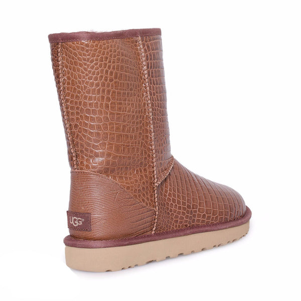 35c8c17ab90 UGG Classic Short Croco Spice Boots - MyCozyBoots