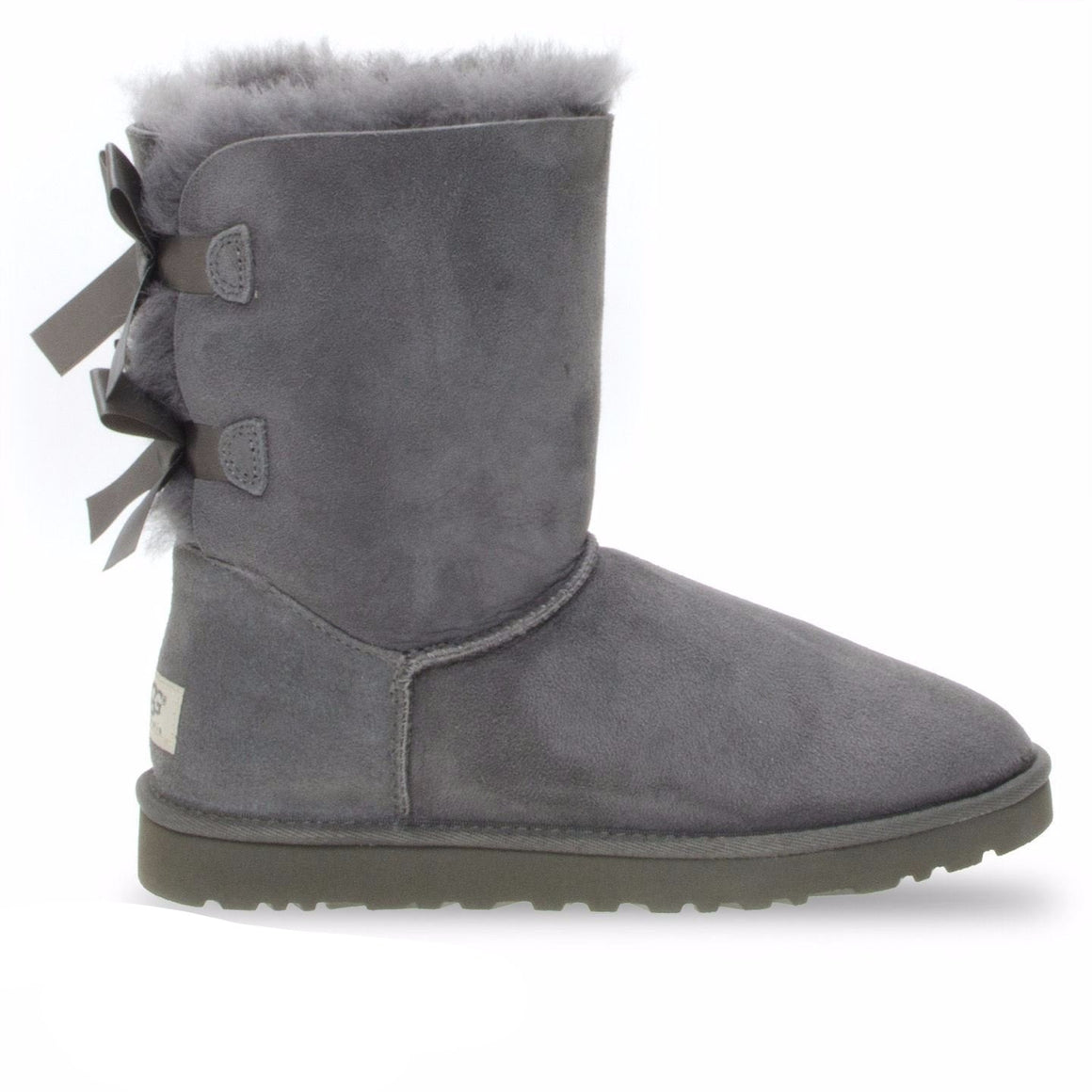 UGG Bailey Bow Grey Boots