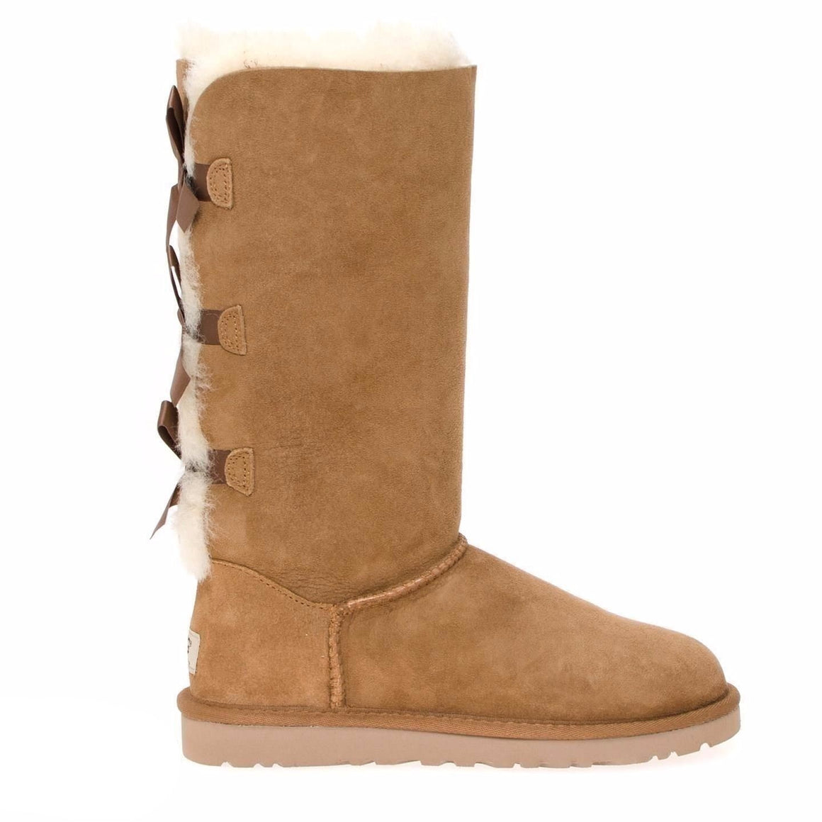 UGG Bailey Bow Tall Chestnut