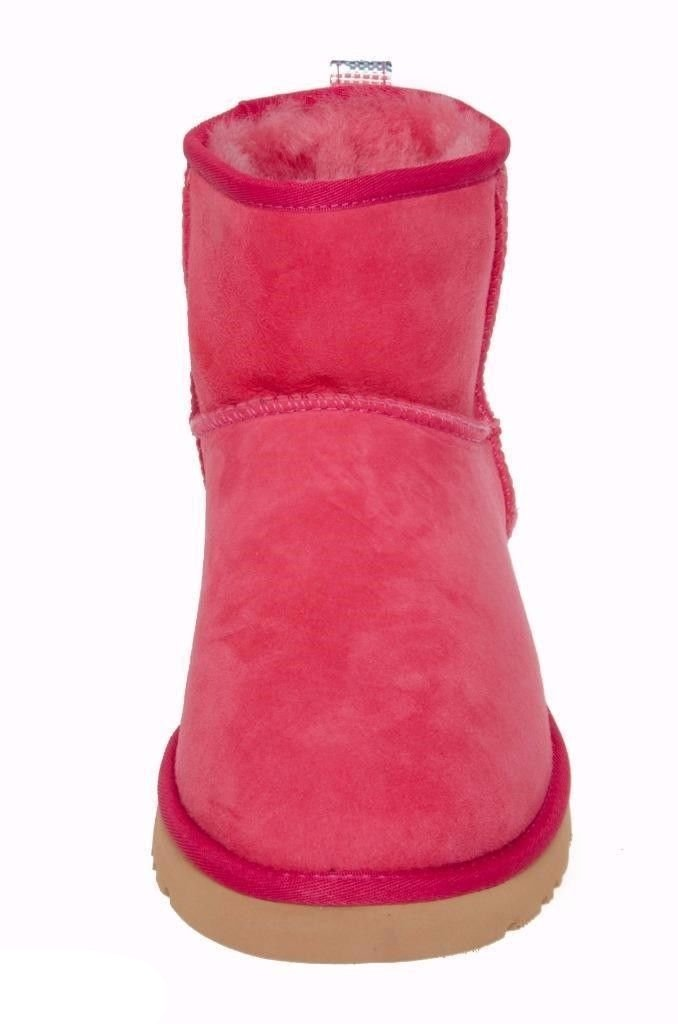 UGG CLASSIC MINI RED BOOTS