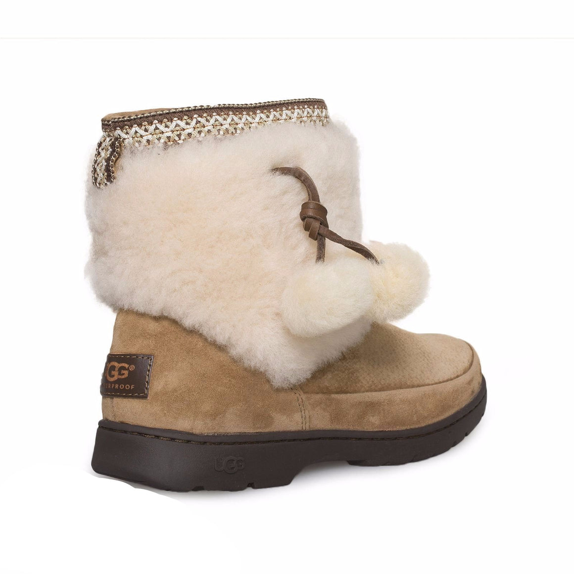 UGG Brie Chestnut Boots