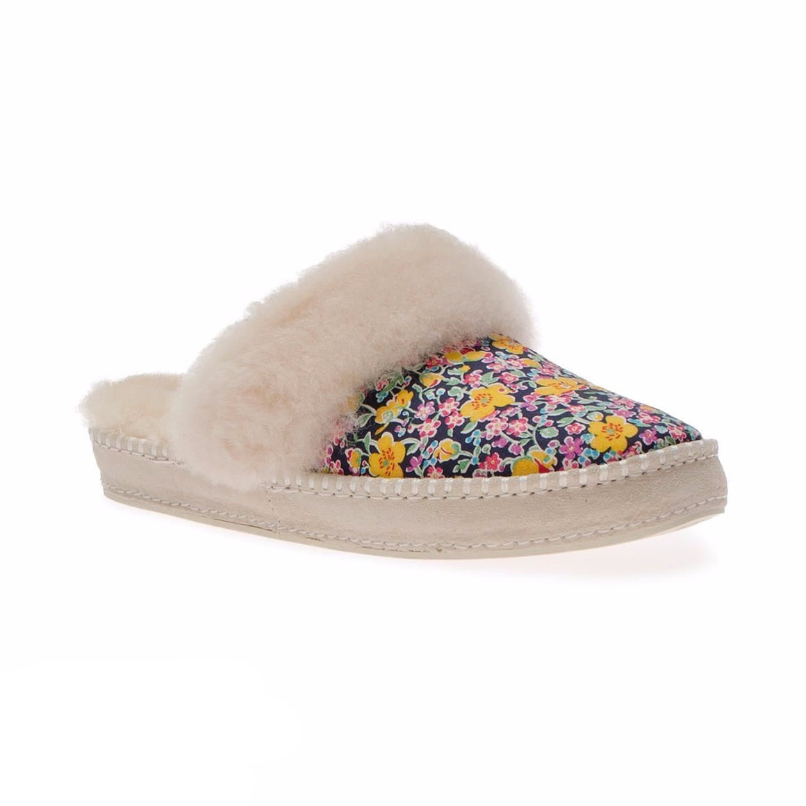 UGG Scuffette Liberty White Slippers