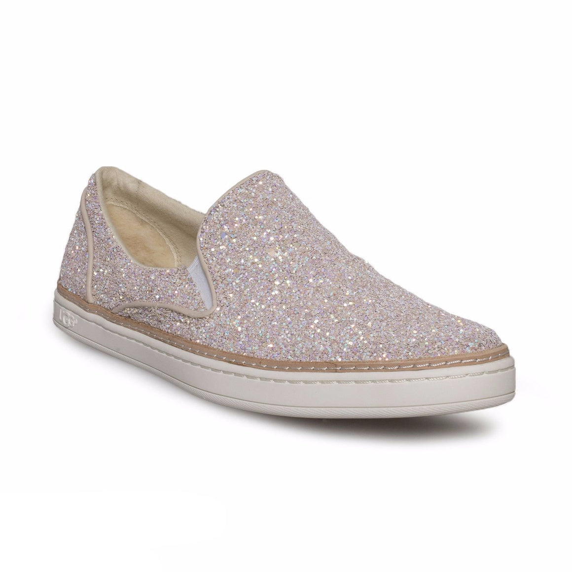 UGG Adley Chunky Glitter Powder Shoe