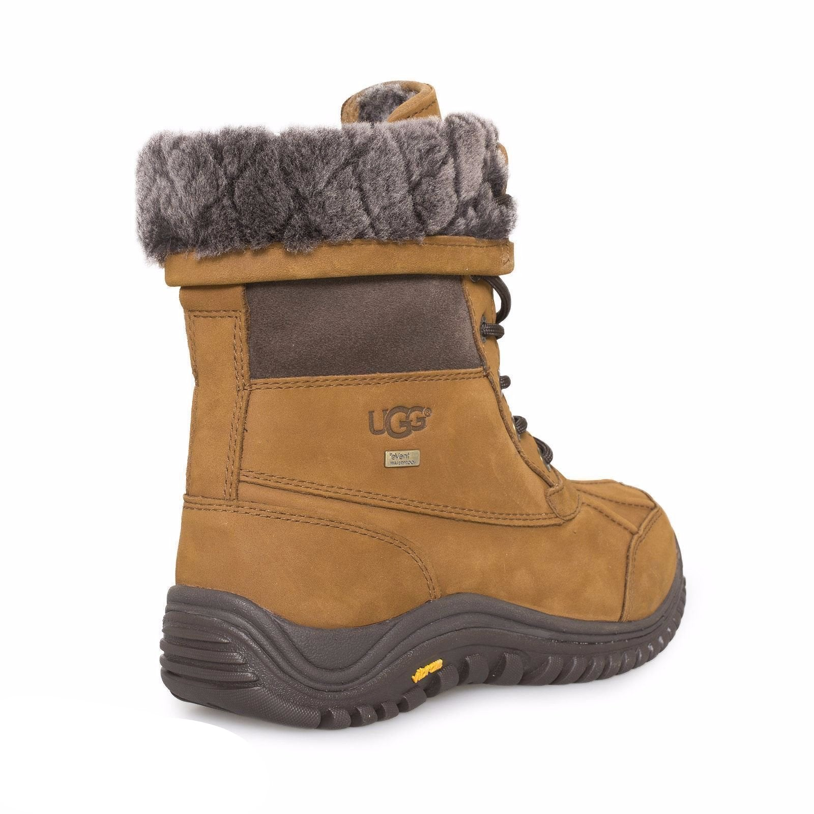 09f70394615 UGG Adirondack II Luxe Quilt Chestnut Boots