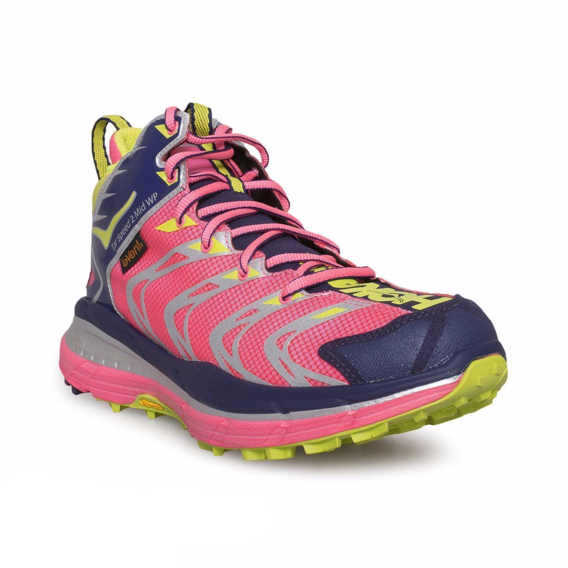 Hoka One One Tor Speed 2 Neon Pink Astral Running Shoes