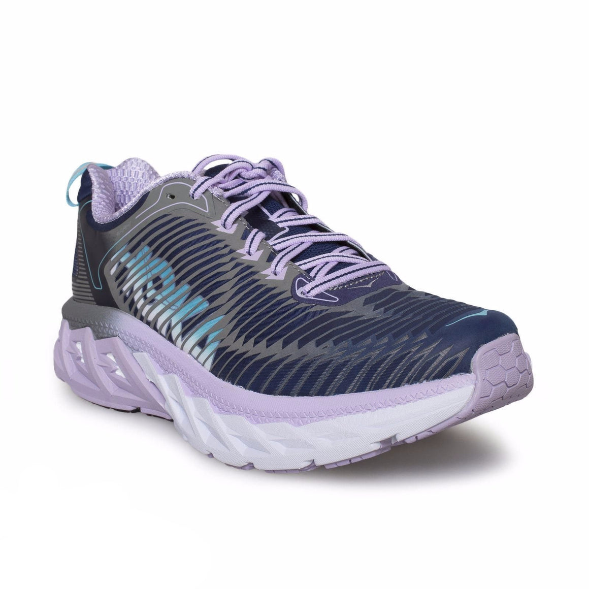 Hoka Arahi Medieval Blue/Lavender Running Shoes
