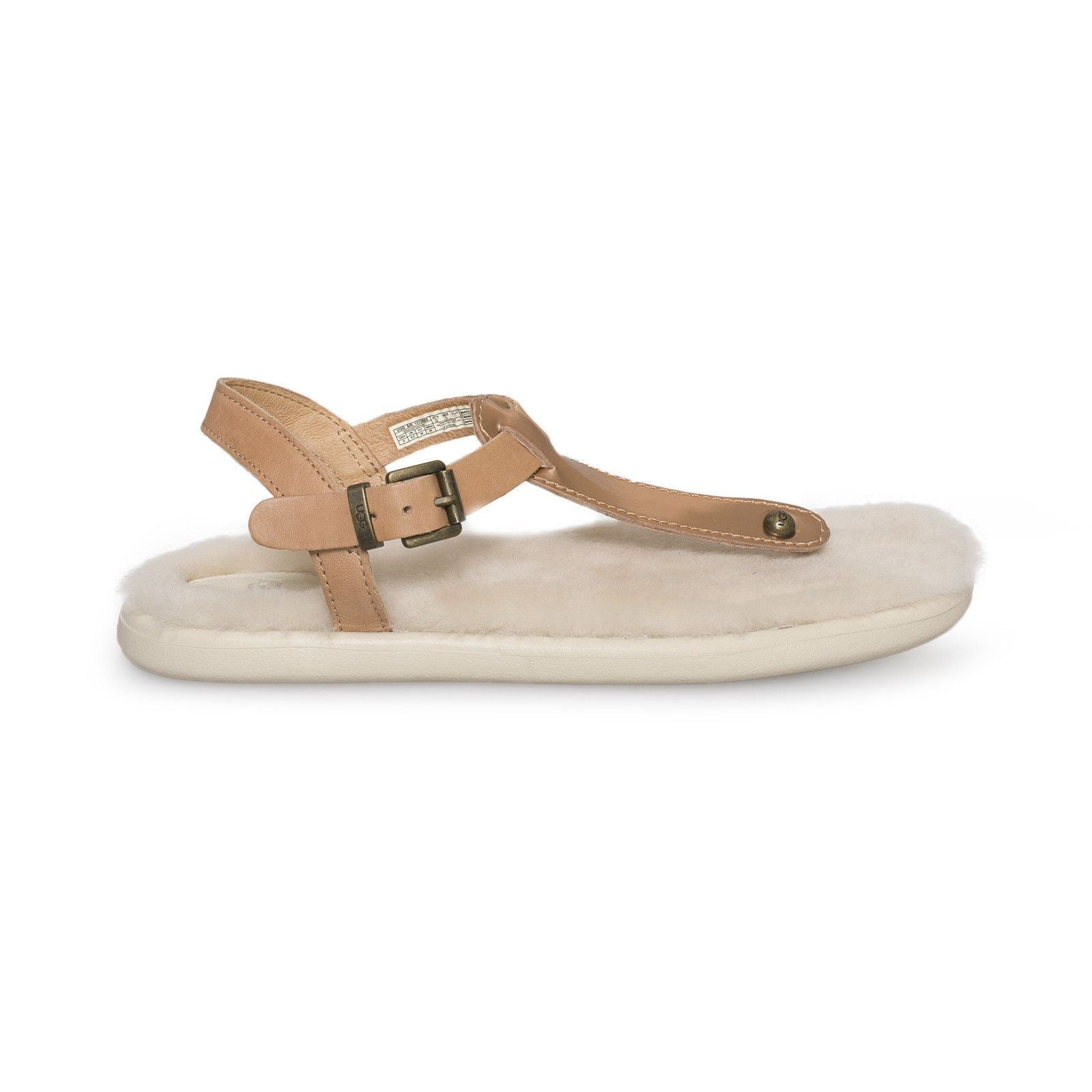 00a4629cf24 UGG Lou Lou Rose Gold Sandals