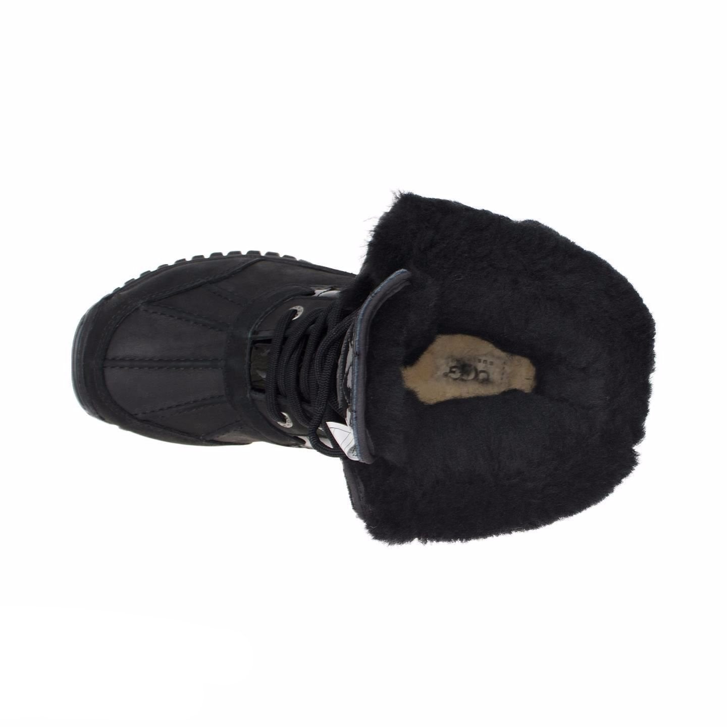 8dbd092936a UGG Adirondack Quilted Black Boots