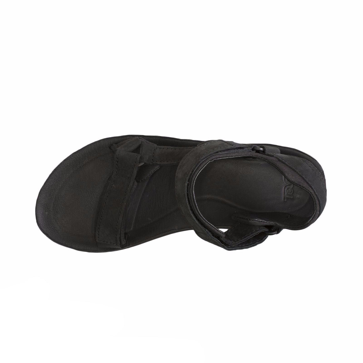 Teva Original Universal Premier Leather Black Sandals