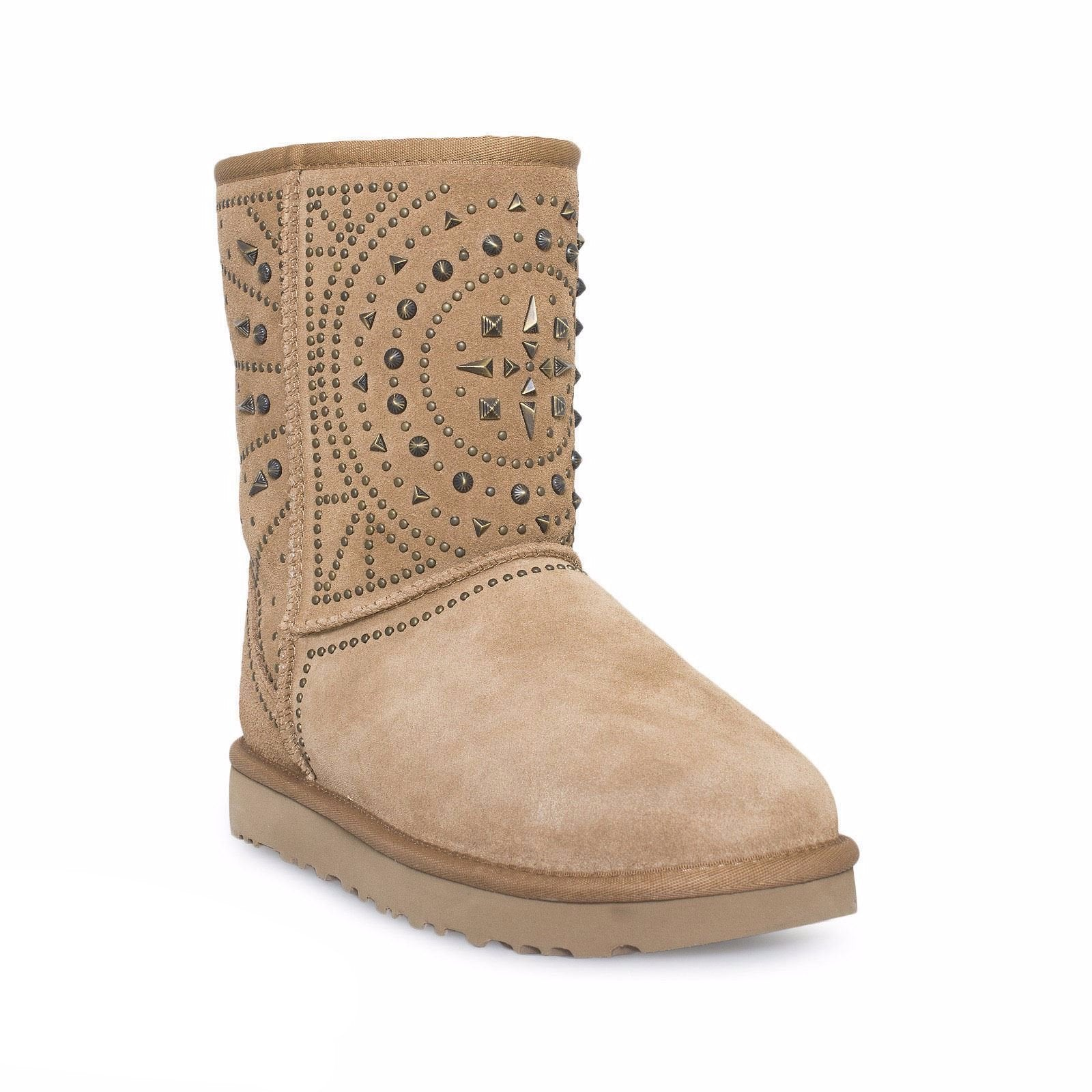 UGG Fiore Deco Studs Chestnut Boots