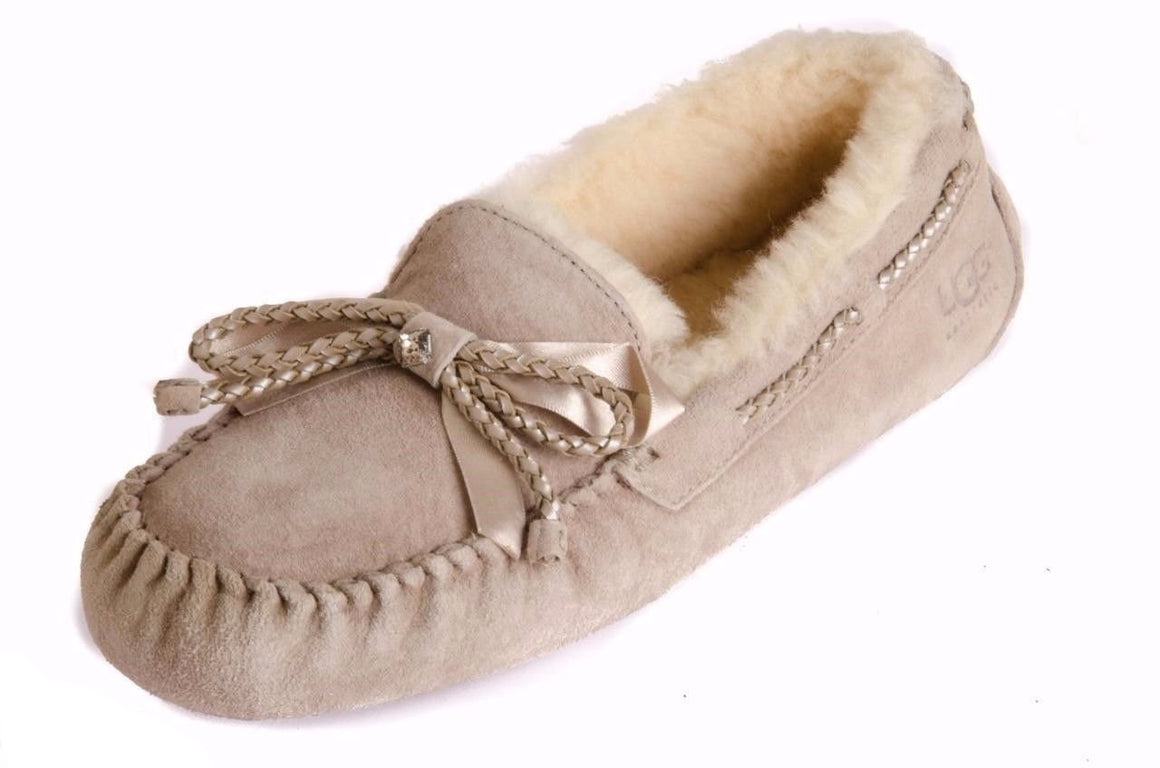 UGG DAKOTA SAND SLIPPERS