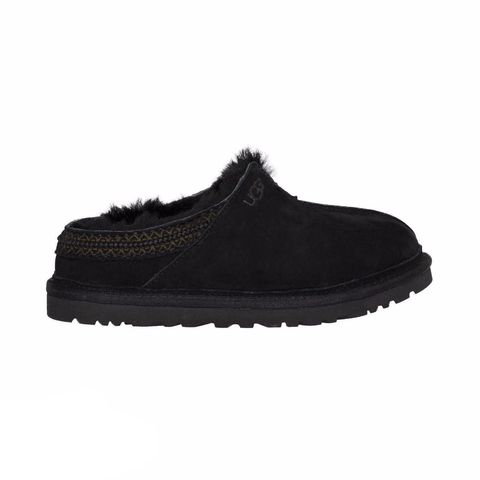 56649ca8df3 UGG Neuman Black Slippers