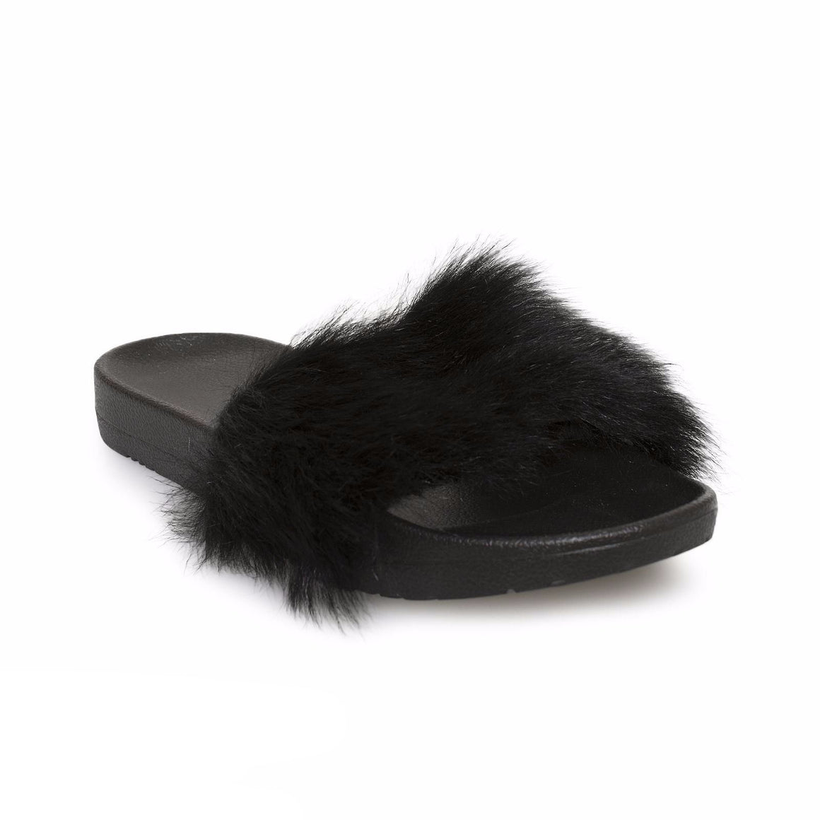 UGG Royale Black Slippers