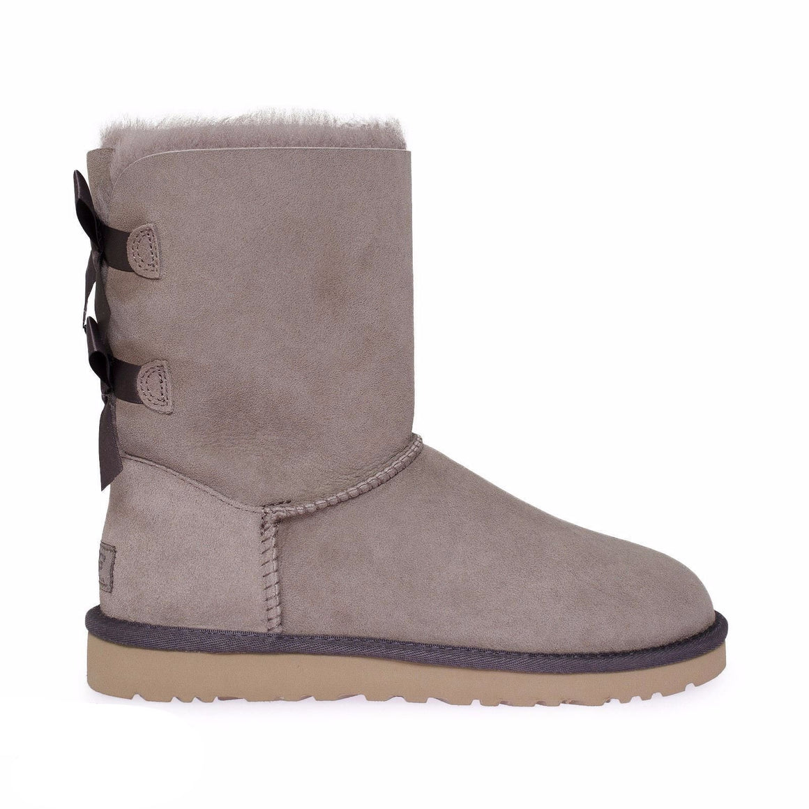 UGG Bailey Bow Stormy Grey Boots