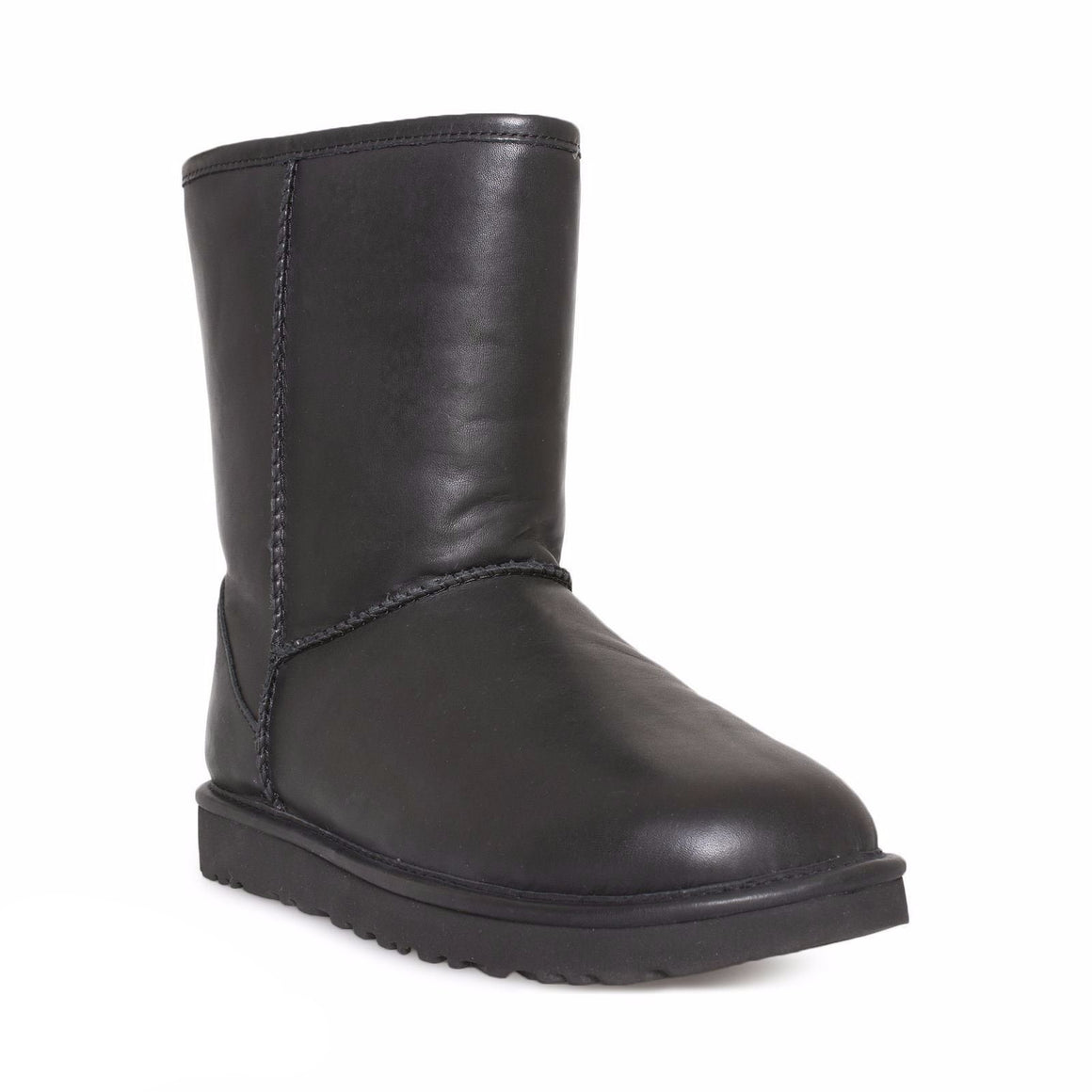 UGG Classic Short Cashmere Black Boots