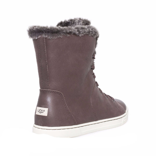 Ugg Croft Luxe Quilt Espresso Shoes Mycozyboots