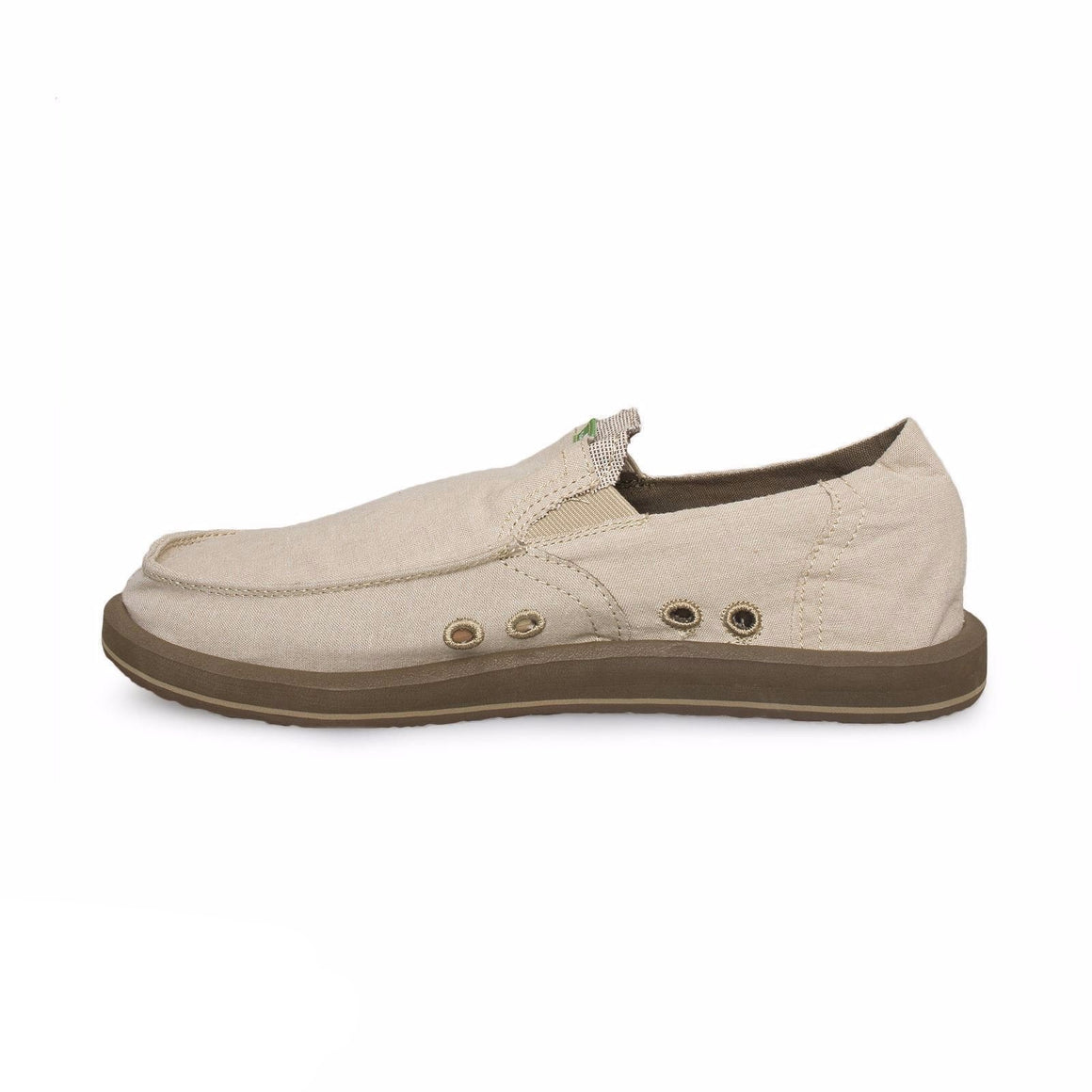 Sanuk Pick Pocket Tan Chambray Shoes