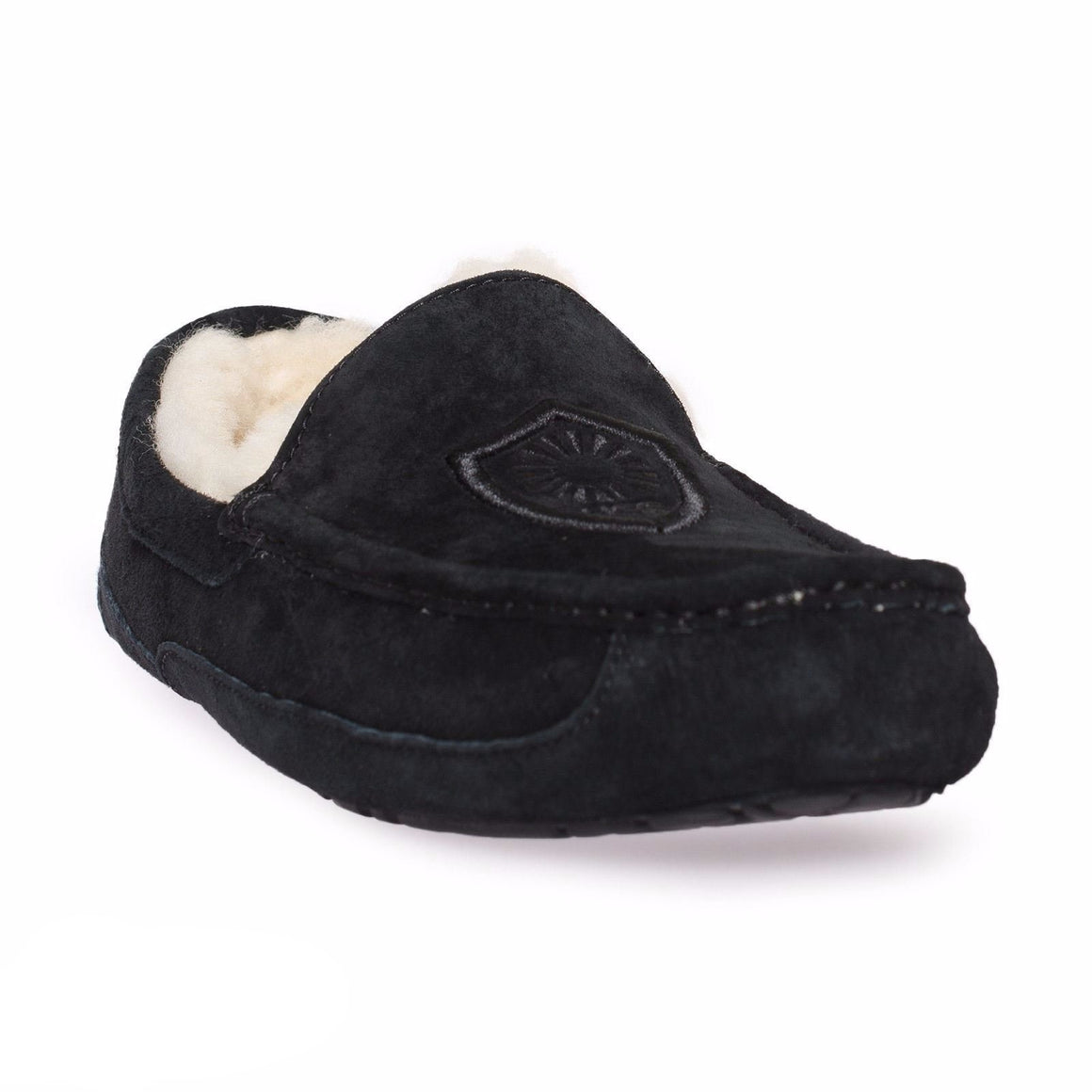 UGG Ascot Noble Black Slippers