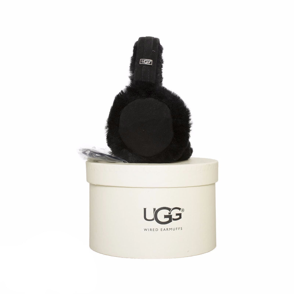 UGG Classic Wired Earmuffs Black