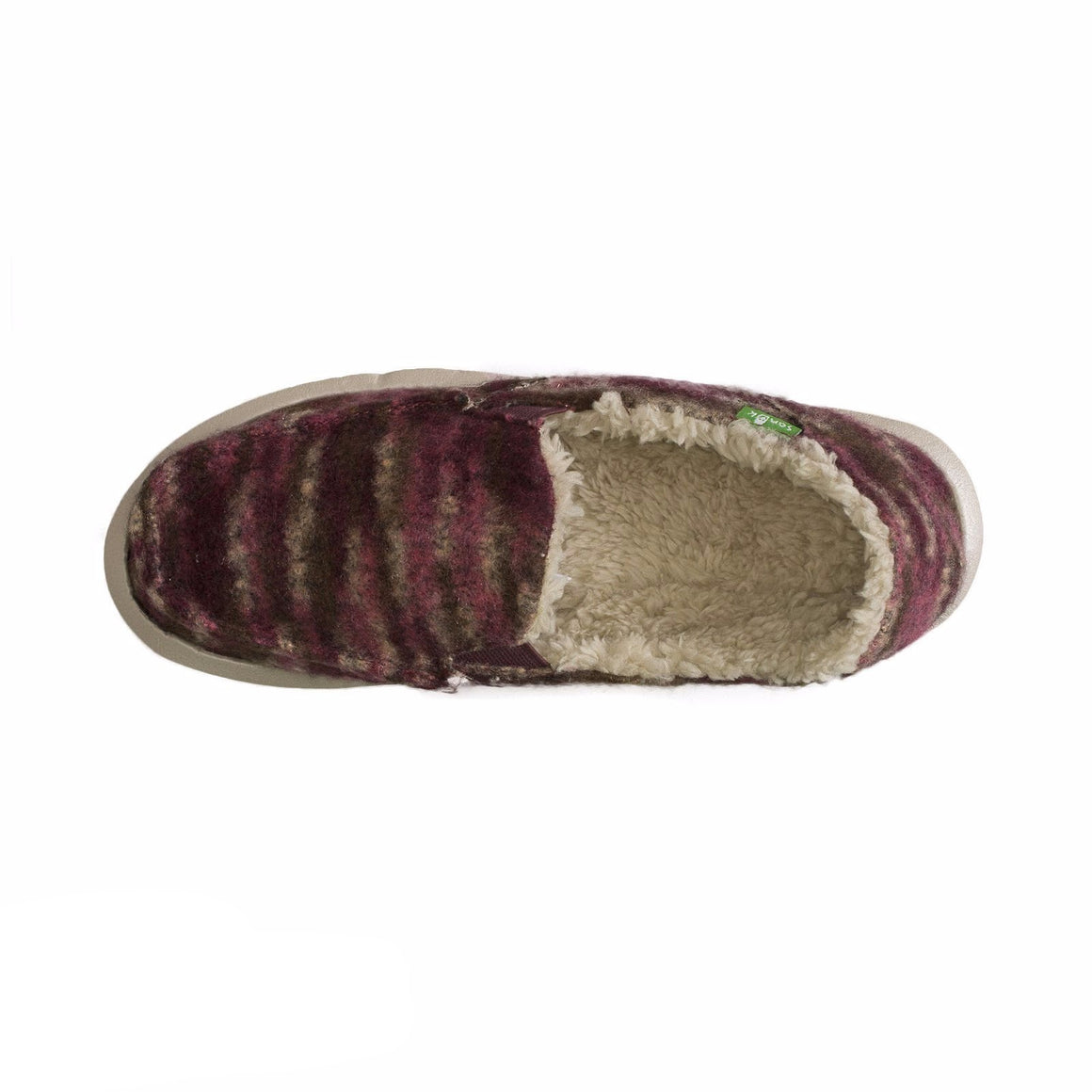 Sanuk Calichill Burgundy Shoes