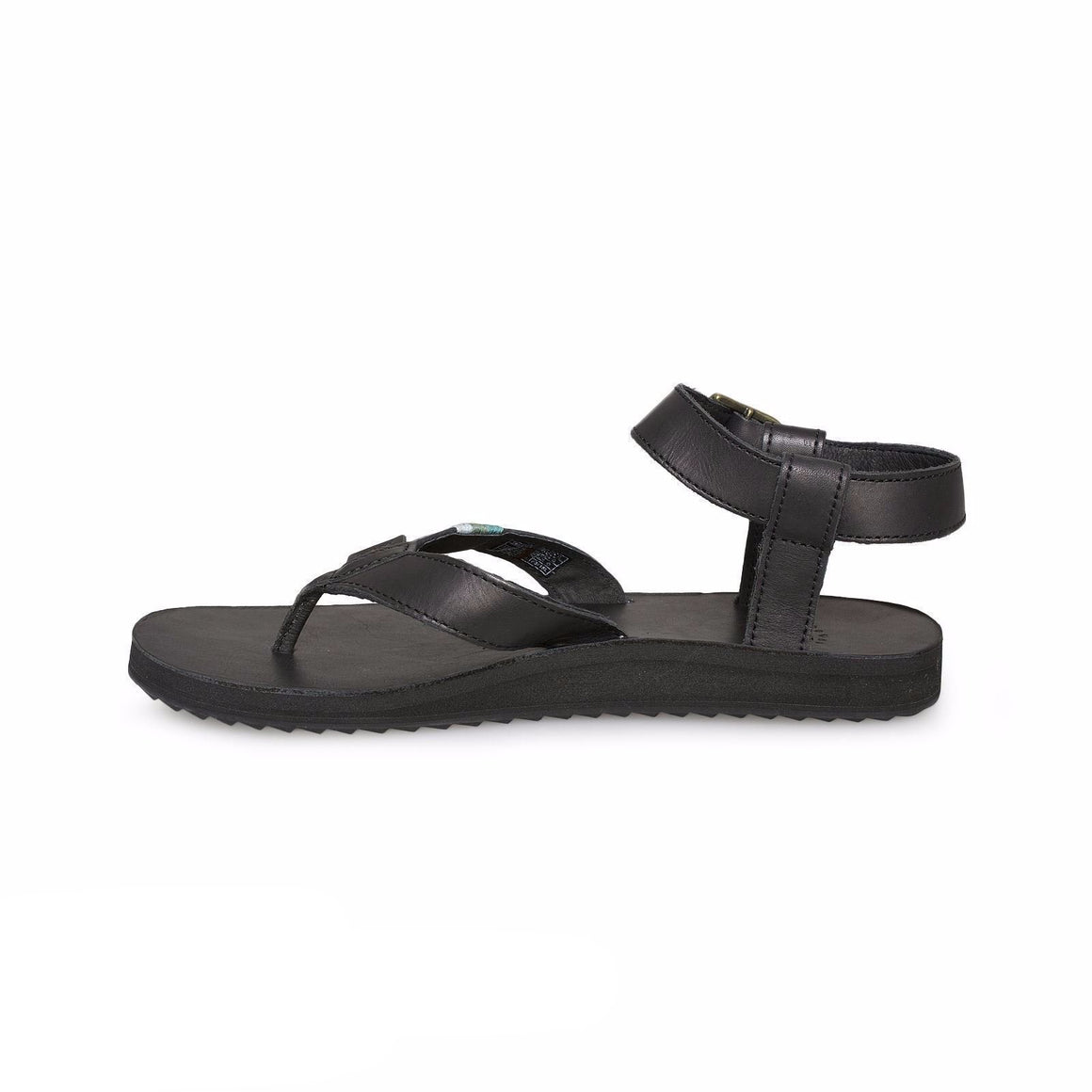Teva Original Crafted Leather Black Sandal