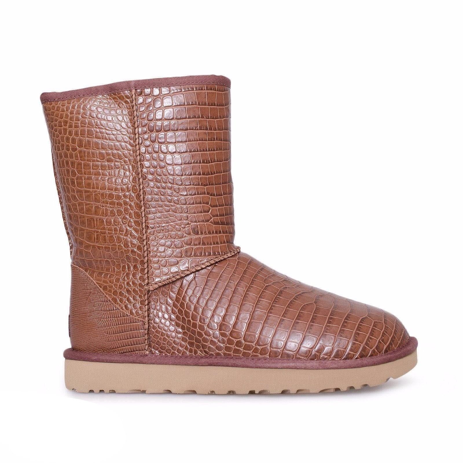 UGG Classic Short Croco Spice Boots