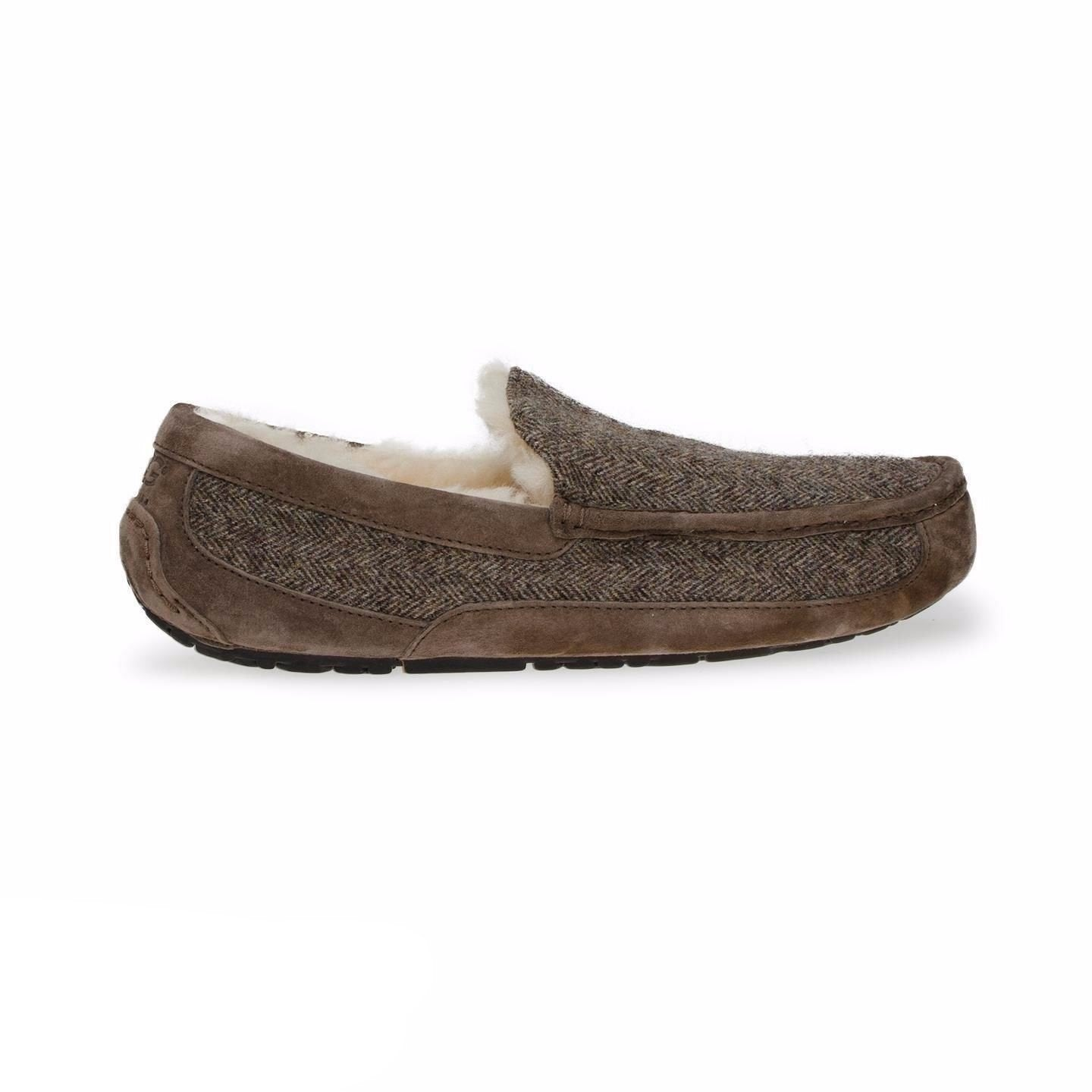 UGG Ascot Tweed Stout Slippers