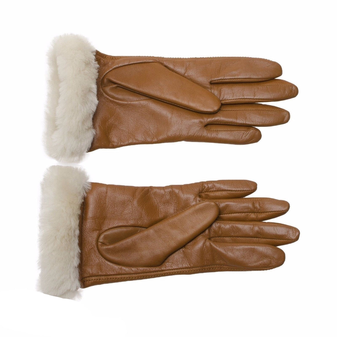 UGG Classic Leather Chestnut Gloves