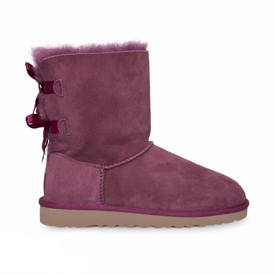 UGG Bailey Bow Bougainvillea Boots - Youth