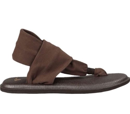 Sanuk Yoga Sling 2 Chocolate Sandals - Women's