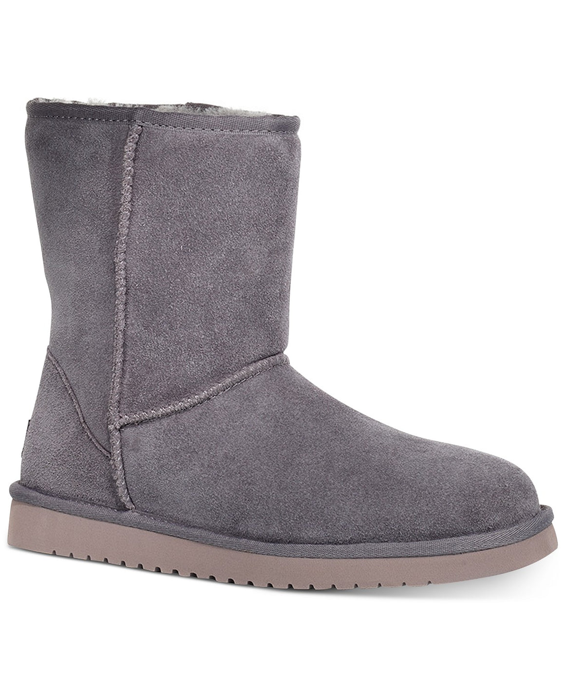 Koolaburra By UGG Koola Short Rabbit Grey Boots - Women's