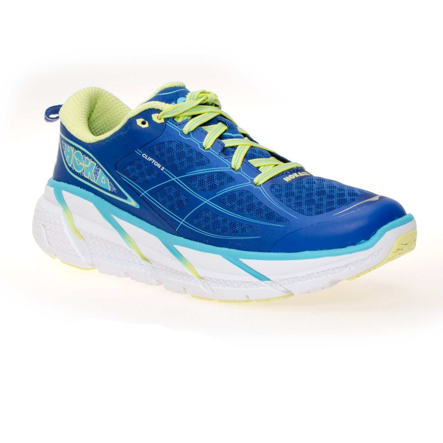 True Blue / Sunny Lime Running Shoes