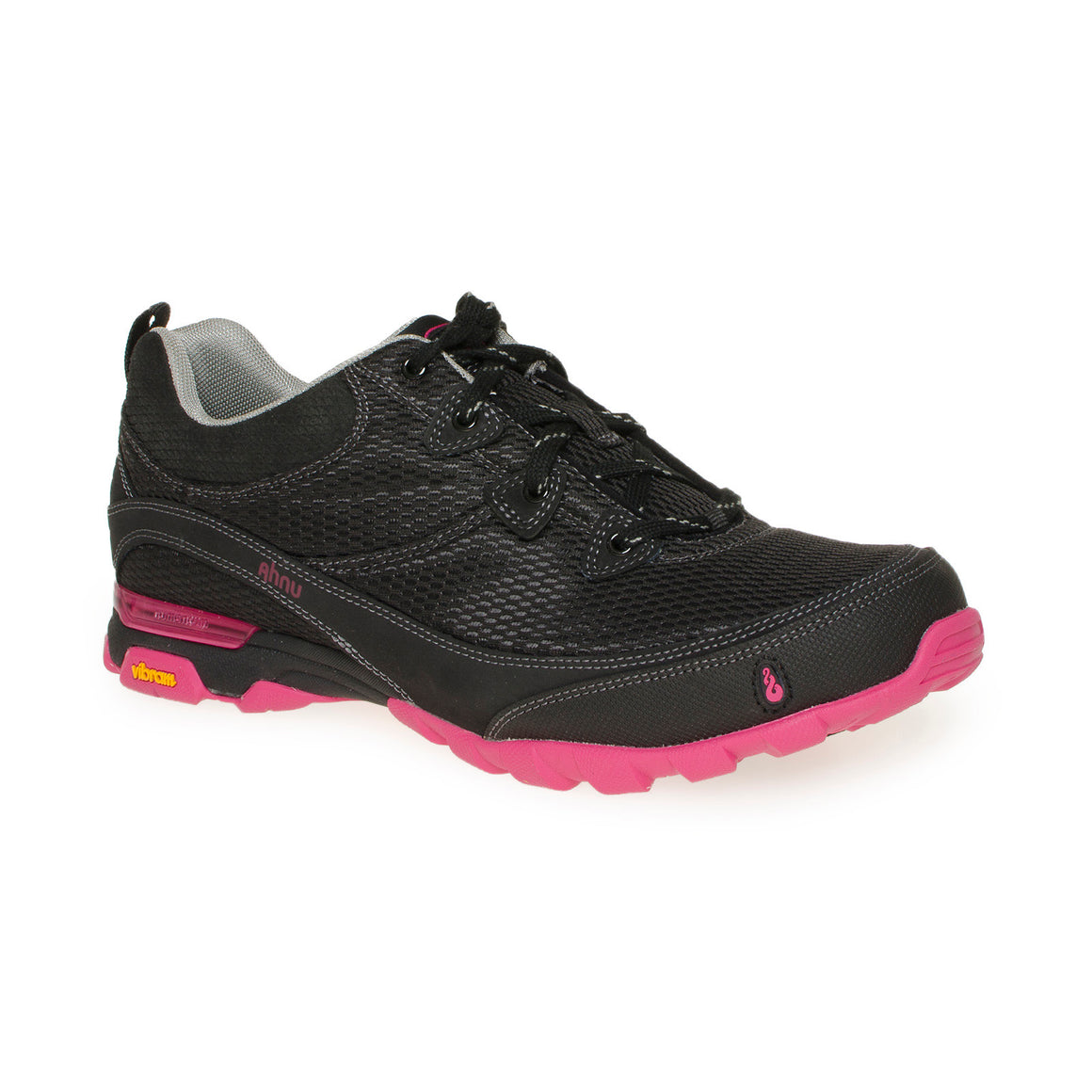 AHNU Sugarpine Air Mesh Black / Pink Boots