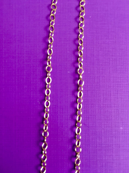 14K Gold Filled Round Chain Medium SIze - TheCrystalFairy