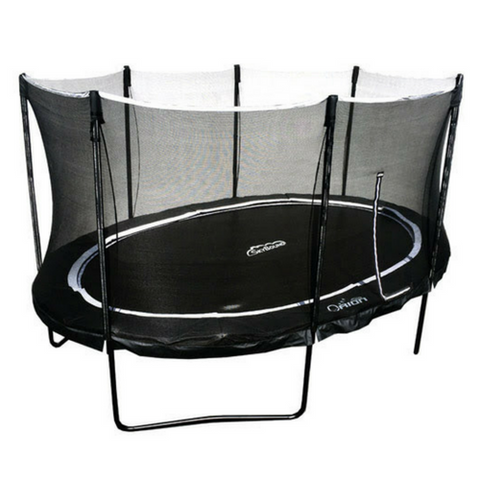 Oval and Octagon Trampolines