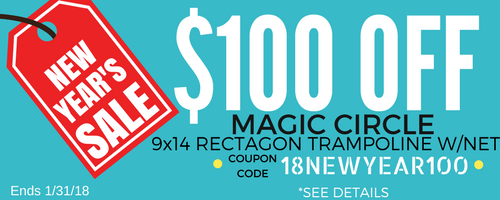 Magic Circle Promotion | The Trampoline Shop