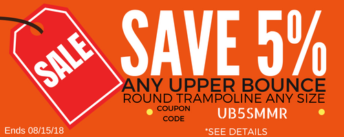 Upper Bounce Promotion | The Trampoline Shop