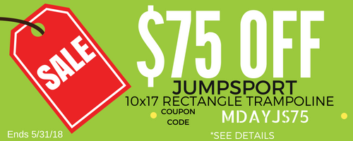 JumpSport Promotion | The Trampoline Shop