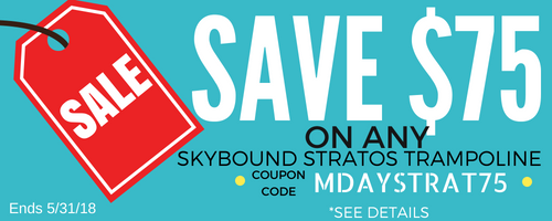 SkyBound Trampoline Promotion | The Trampoline Shop