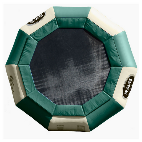 Aqua Jump 150 Northwoods Water Trampoline by Rave Sports Image 1 | The Trampoline Shop