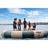 Bongo 20 Northwoods Water Trampoline by Rave Sports Image 3 |  The Trampoline Shop