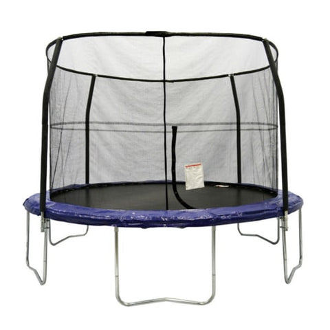 Bazoongi Kids Trampoline 12 FT Big and Round with Safety Enclosure Net 1 | The Trampoline Shop