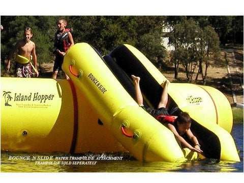 Bounce 'n Slide - water trampoline attachment 1 | The Trampoline Shop